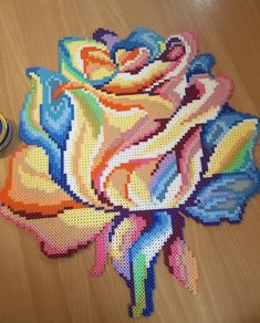 Discover recipes, home ideas, style inspiration and other ideas to try. Perler Bead Designs, Perler Bead Templates, Hama Beads Design, Diy Perler Beads, Perler Bead Art, Pearler Beads, Fuse Beads, Melty Bead Patterns, Pearler Bead Patterns