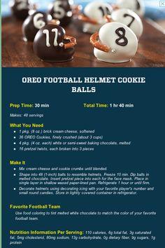 Oreo Football Helmet Football Cookie