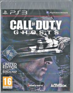 Playstation 3 Call of Duty Ghosts Gratuit Fall édition limitée ps3 Cod