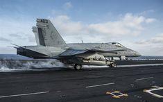 تحميل خلفيات ماكدونيل دوغلاس FA-18C Hornet, FA-18C, أمريكا السفينة الطائرة, المقاتلة القاذفة, طائرة عسكرية, البحرية الأمريكية, لنا, تقلع من حاملة طائرات