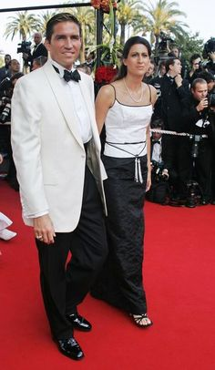 James Caviezel and his wife Kerri at the official showing of
