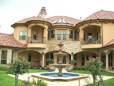 72 Best Mediterranean And Tuscan Villa Images House