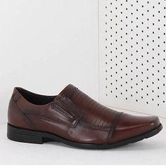 Sapato Social Masculino Ferracini M3 - Castor