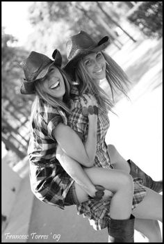 Country girls stay true..   I think we should do a country photo shoot :)