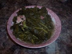 The Perfect Souther Style Fresh Country Collard Greens