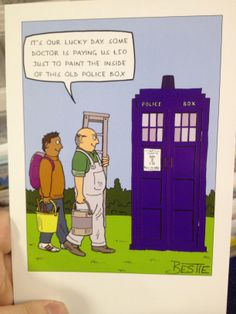 Ah, the Doctorness of it all <3