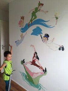 muurschildering-peter-pan-kinderkamer-225x300.jpg (225×300)