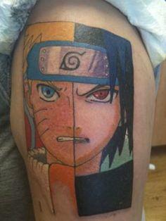 cartoon related tattoos