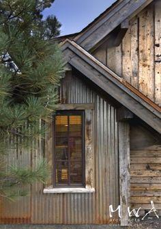 Love the rustic exterior!