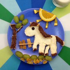 "27 Likes, 1 Comments - Anne Widya (@anne2matthew) on Instagram: ""It's #horsie time #breakfast #kidsfood #foodart #horse #anne2matthew"""