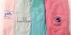 Southern Tide, Lauren James, Vineyard Vines and Southern Proper Frockets- Preppy essentials!