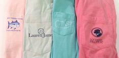 Southern Tide, Lauren James, Vineyard Vines and Southern Proper Frockets