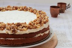 Spiced Carrot Cake - Fűszeres Répatorta Carrot Spice Cake, Tiramisu, Spices, Ethnic Recipes, Food, Spice, Essen, Meals, Eten