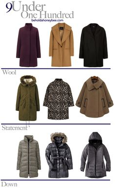 9 winter coats for under $100