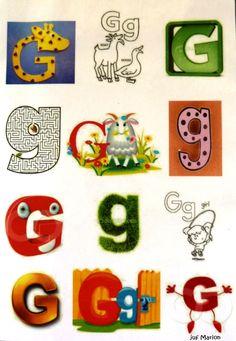 letter G/g