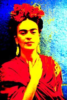 Funky Frida III  http://michelle-wilmot.artistwebsites.com/featured/funky-frida-iii-michelle-wilmot.html