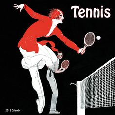 Tennis 2013 Wall Calendar: It is believed that Major Wingfield invented lawn tennis in 1873 at a garden party in Wales. The men wore long sleeved shirts an Lawn Tennis, Tennis Tips, Sport Tennis, Golf Tips, Tennis Wear, Wall Art Designs, Wall Design, Bed Designs, Tennis Posters