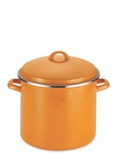 Paula Deen  PAULA DEEN SIGNATURE ENAMEL ON STEEL 12-QUART COVERED STOC