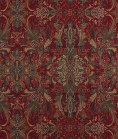 Ralph Lauren Lakota Paisley Canterbury Red Fabric - $53.05 | onlinefabricstore.net