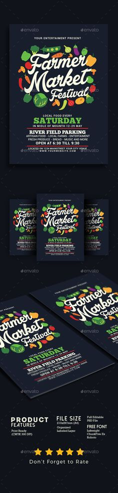 Food Truck Flyer  Poster  Food Truck Template And Food