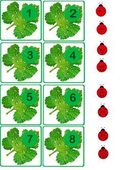 Ladybug math printables for kids Preschool Writing, Numbers Preschool, Kindergarten Science, Teaching Math, Montessori Activities, Activities For Kids, Math Sheets, Kids Math Worksheets, Spring Activities