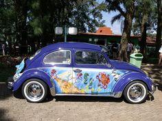 VW Beetle Fusca Clube de São Roque