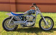 Evel Knievel Tribute – 1985 Harley Davidson XLX-61 | Bike-urious