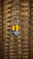 Faceless - Yellow - The profit from the sale of these earrings helps to rescue a victim of human trafficking AND money is contributed to eradicate poverty!