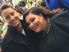 With @chrissymetz at #macysthanksgivingdayparade