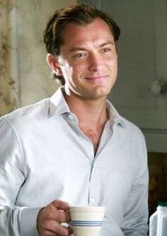 Jude Law in The Holiday (2006). Written, produced and directed by Nancy Meyers.