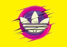 Adidas 2 on Behance Smile Wallpaper, Iphone Wallpaper, Sneaker Posters, Arte Black, Adidas Design, Supreme Wallpaper, Marken Logo, Brown Art, Tee Shirt Designs