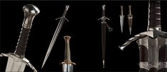 Boromir's weapons