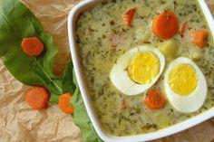 Pobite gary Barbary: Zupa szczawiowa