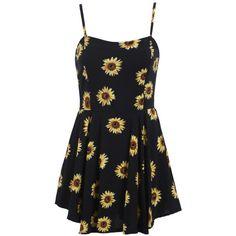 Spaghetti Strap Flower Print Chiffon Dress (56 BRL) ❤ liked on Polyvore featuring dresses, vestido, spaghetti-strap dress, floral dresses, floral printed dress, chiffon dress and floral design dresses