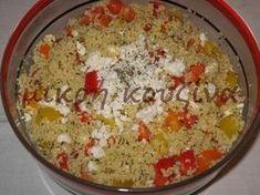 Σαλάτα με κους-κους Macaroni And Cheese, Rice, Vegan, Cooking, Ethnic Recipes, Food, Kitchen, Mac And Cheese, Essen