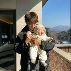 Depois de se assumirem publicamente Jimin e Jungkook se tornaram o ca… # Fanfic # amreading # books # wattpad Cute Asian Babies, Korean Babies, Asian Kids, Cute Babies, Asian Cute, Couple Ulzzang, Ulzzang Kids, Korean Ulzzang, Father And Baby