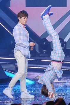 Hoya and Dongwoo