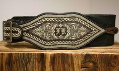 Initialen? Muster? Federkielstickerei Belt, Accessories, Fashion, Inventions, Embroidery, Patterns, Schmuck, Kleding, Belts