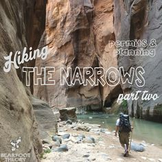 Planning a trip to the Zion Narrows is EASY! In this post, I tell you everything you need to know about permits, planning, transportation, water levels, and more. Check it out and go reserve your permit now! #visitutah #zion #thenarrows #hiking