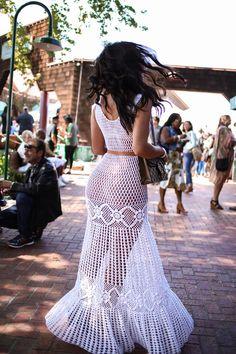 Crochet Beach Dress, Crochet Wedding Dresses, Crochet Bikini, Knit Crochet, Sexy Outfits, Sexy Dresses, Fashion Dresses, Crochet Designs, Crochet Patterns