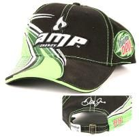Dale Earnhardt Jr #88 amp Energy on Black/white/green Chase ballcap new/tags w/free shipping
