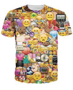I Love Emojis T-Shirt