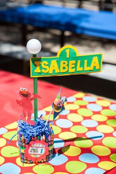 Sesame Street Birthday Party Ideas | Photo 11 of 33 | Catch My Party