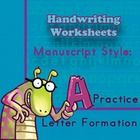 Amazing selection of templates in SPANISH for pre-kindergarten to third grade. Students will practice manuscript A to Z. They will learn to form le...