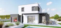 Plan Maison Traditionnelle, modèle Créathena Contemporain