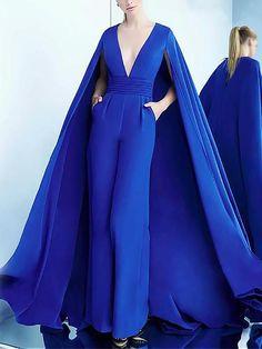 Ocassion Damen Overall Catsuit Jumpsuit Samt Stoffhose Anzug Nikki Schwarz