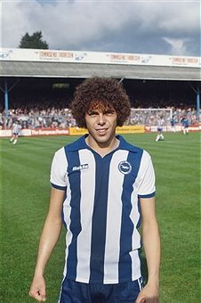 Peter Ward of Brighton in 1978. Soccer World, World Football, Football Players, Stock Pictures, Stock Photos, Sheffield Wednesday, Brighton & Hove Albion, Creative Video, Image Collection