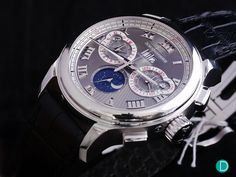 A review of the Chopard L.U.C. Perpetual Calendar Chrono, with live pics, commentary, and price details.