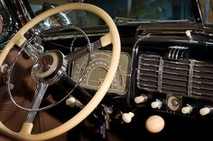 1937 Buick Roadmaster Interior | 1937 Buick Roadmaster, 80c Model, Convertible, 4 Door