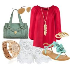 Color Obsession: MInt/Turquoise - Polyvore